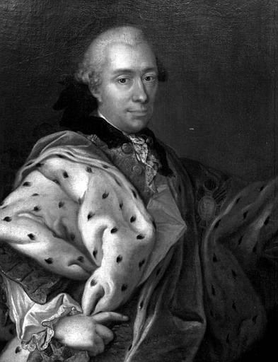 Louis-Charles-Otton de Salm, 1674-1734, peinture sur toile