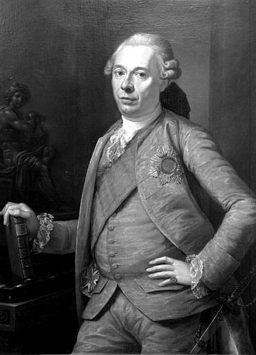 Portrait de Louis-Charles-Otton, Prince de Salm, 1721-1778, peinture sur toile