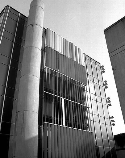 Immeuble de l'EPAD, détail de la façade