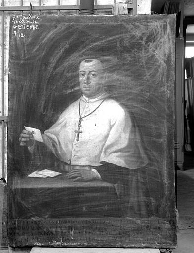 Portrait d'un prélat
