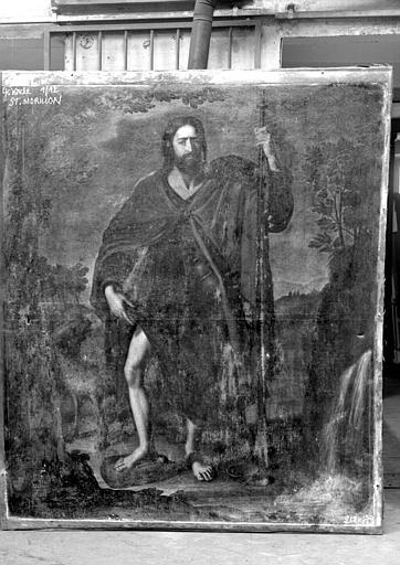 Saint Roch, peinture sur toile