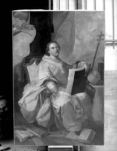 Saint Norbert, peinture sur toile