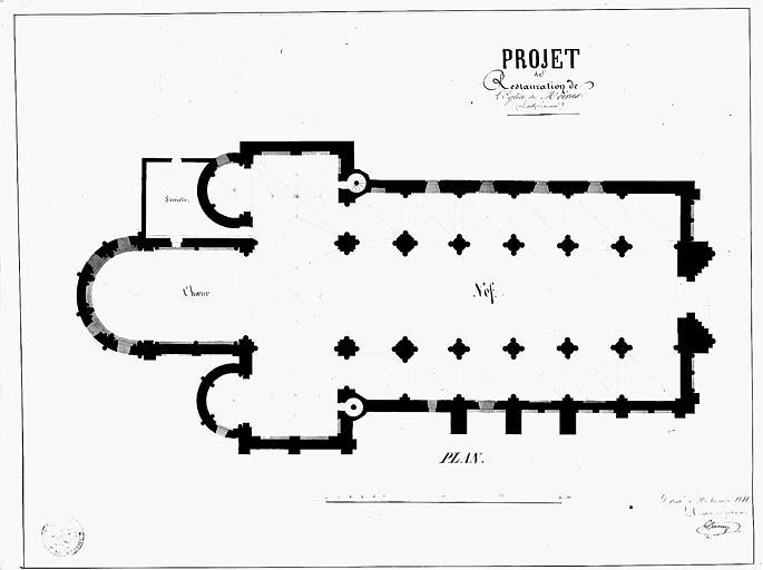 Projet de restauration : Plan général