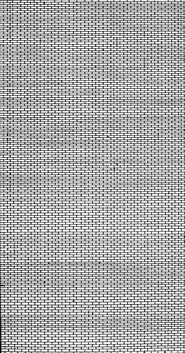 Modèle de briques pour les plans-reliefs des Invalides