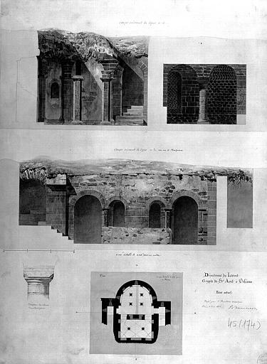 Crypte Saint-Avit