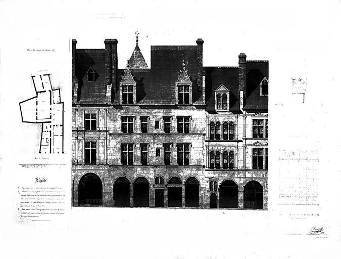 Maison dite d'Agnès Sorel ou Hôtel Euverte-Hatte, actuellement Centre Charles Péguy