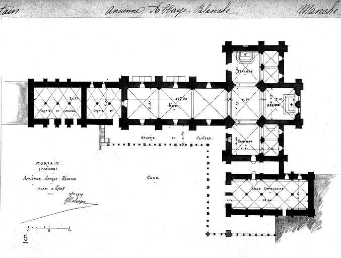 Plan général de l'église