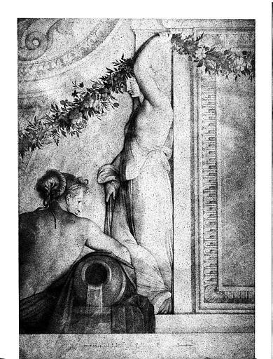 Dessin (d'après les peintures de Lesueur)