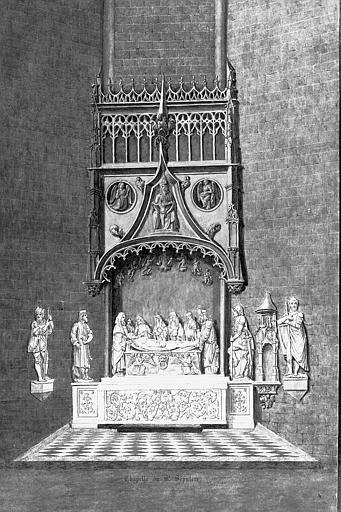 Lithographie : Chapelle du Saint-Sépulcre (pl. 6)