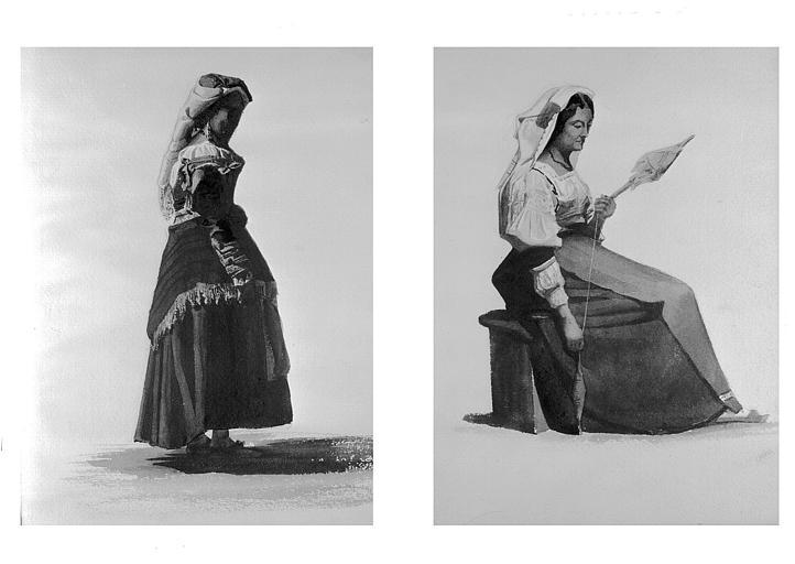 Etudes de costumes : Cerbero, Alvito