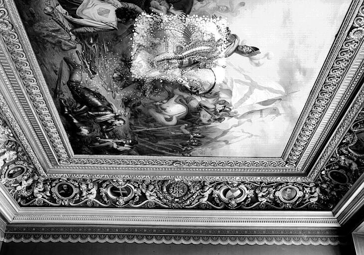 Galerie Campana, voussure est de la 2e salle