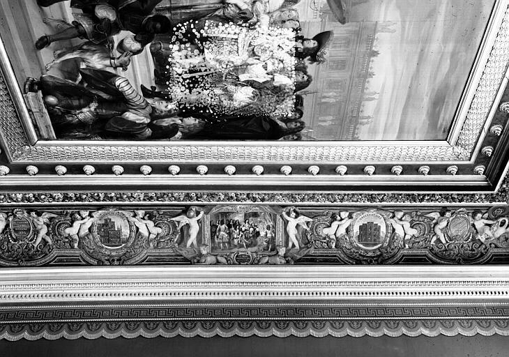 Galerie Campana, voussure est de la 3e salle : Vue d'ensemble