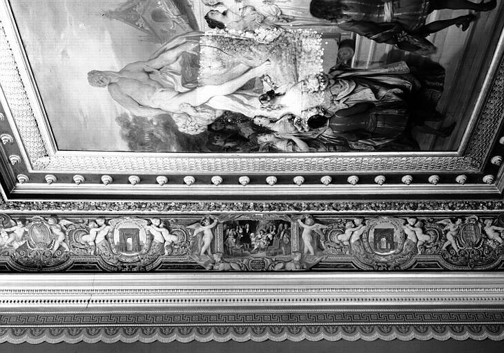 Galerie Campana, voussure ouest de la 3e salle : Vue d'ensemble