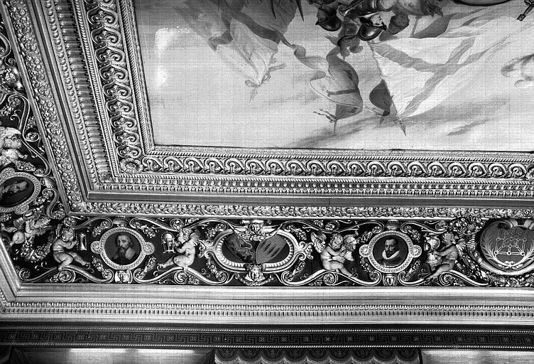 Galerie Campana, voussure sud de la 2e salle (partie gauche)