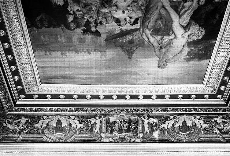 Galerie Campana, voussure sud de la 3e salle : Vue d'ensemble
