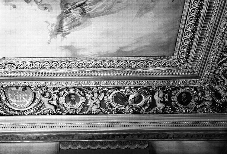 Galerie Campana, voussure sud de la 2e salle (partie droite)