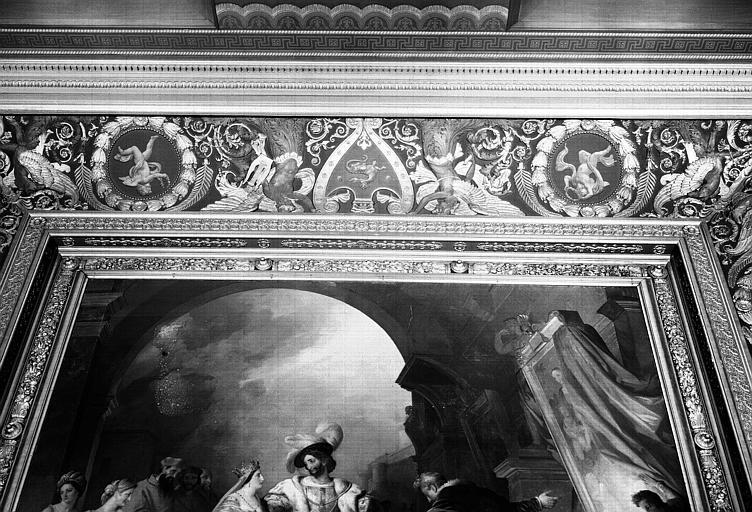 Galerie Campana, voussure sud de la 4e salle