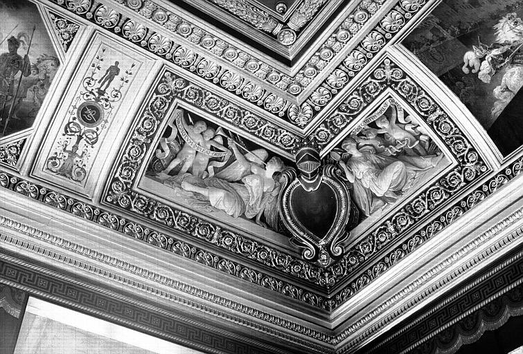 Galerie Campana, voussure angle sud-ouest de la 5e salle