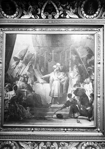 Galerie Campana, plafond peint de la 6e salle : François 1er armé chevalier par Bayard