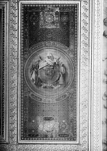 Galerie Campana, plafond peint de la 9e salle : Expédition d'Egypte sous les ordres de Bonaparte (panneau droit)