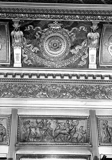 Galerie Charles X, voussure sud de la 8e salle (partie centrale)