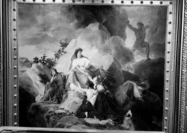 Galerie Charles X, plafond peint de la 6e salle