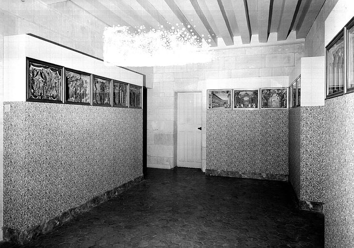 Cabinet Servandoni au 2e étage : Vue d'ensemble de la maquette du théâtre