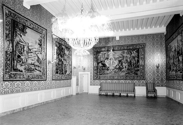 Salle des Chasses du roi François au rez-de-chaussée