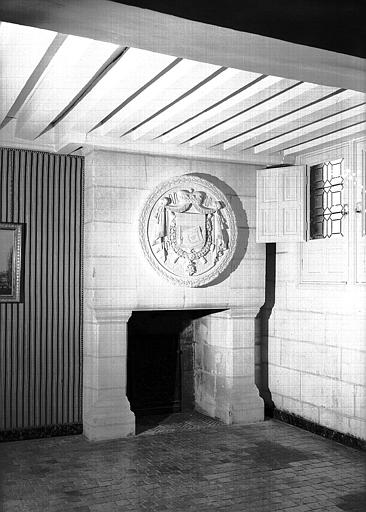 Cabinet Wagram au 1e étage : Cheminée