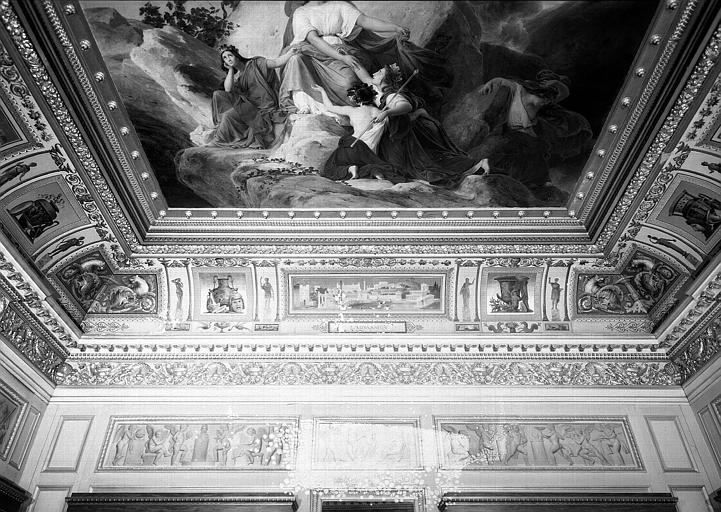Galerie Charles X, voussure sud de la 6e salle