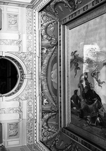 Galerie Charles X, voussure est de la 4e salle