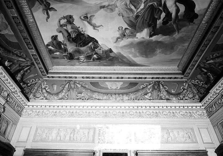 Galerie Charles X, voussure sud de la 4e salle
