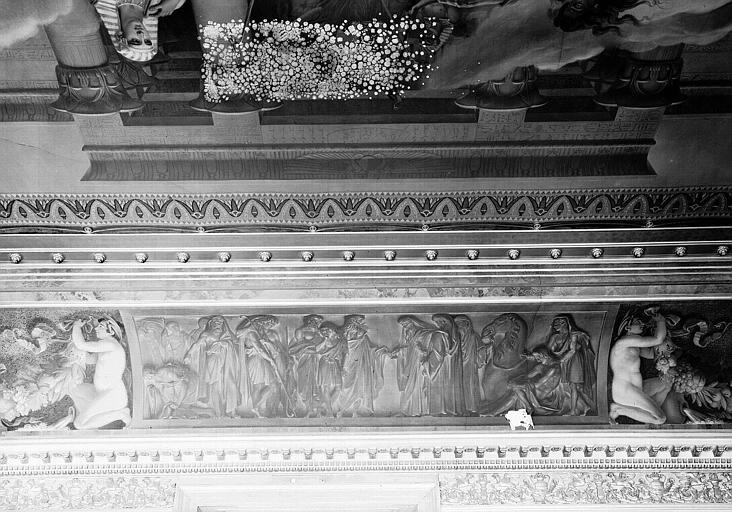 Galerie Charles X, voussure nord de la 3e salle (partie centrale) : Joseph vendu par ses frères