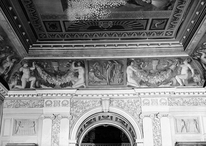 Galerie Charles X, voussure est de la 3e salle : Joseph gardant les troupeaux