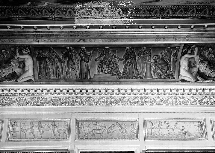 Galerie Charles X, voussure sud de la 3e salle (partie centrale) : Joseph élevé au gouvernement d'Egypte