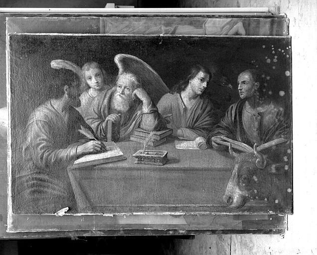 tableau : quatre évangélistes (les)