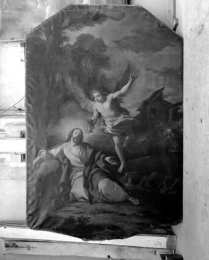 Peinture sur toile : Le Christ au Jardin des Oliviers