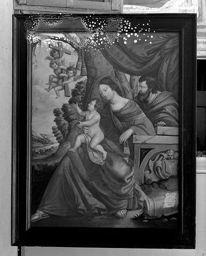 Peinture sur toile : Sainte Famille