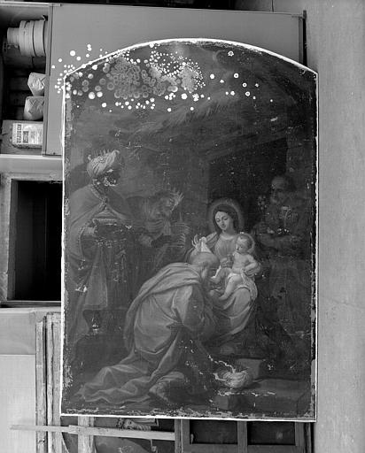 Peinture sur toile : L'Adoration des Mages