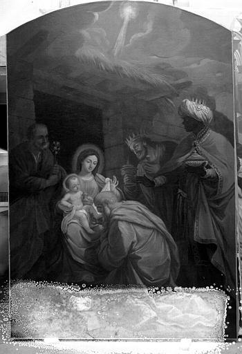 Toile : L'Adoration des Mages