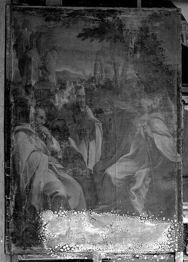 Peinture sur toile : La Vision de saint Romuald
