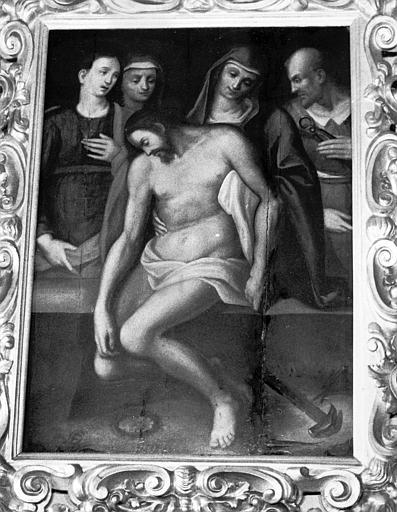 Tableau, cadre : Déposition de croix (la)