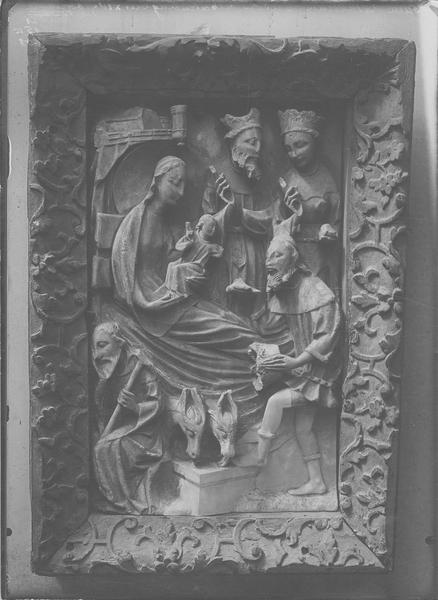 Bas-relief : l'Adoration des Mages