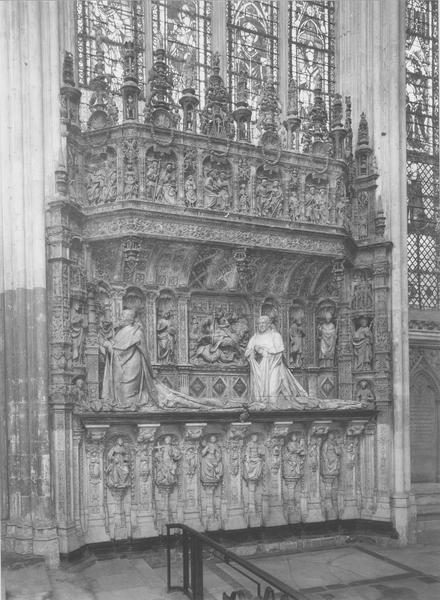 tombeau des cardinaux Georges Ier et Georges II d'Amboise, vue générale