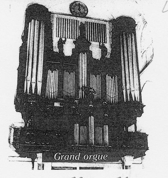 Orgue de tribune : tribune d'orgue, vue générale