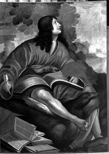 Peinture sur toile : Saint Jean l'Evangéliste