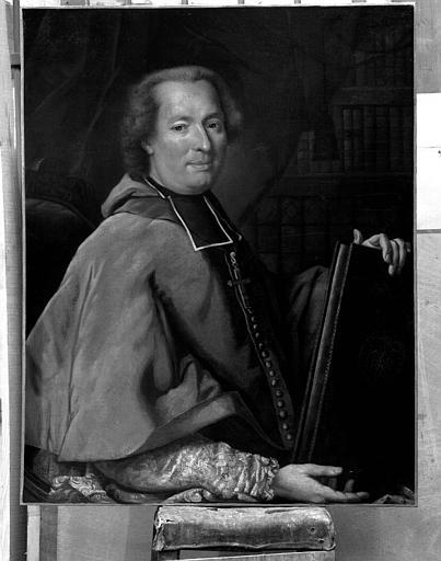 Peinture sur toile : Portrait de Monseigneur de Montalivet