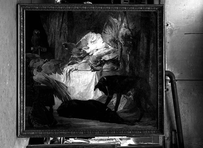Peinture sur toile : Nature morte