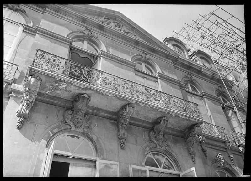 Balcon (détail)