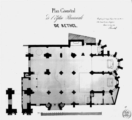 Plan géométral